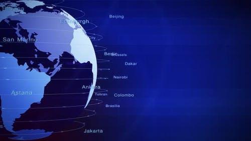 World Cities Capitals