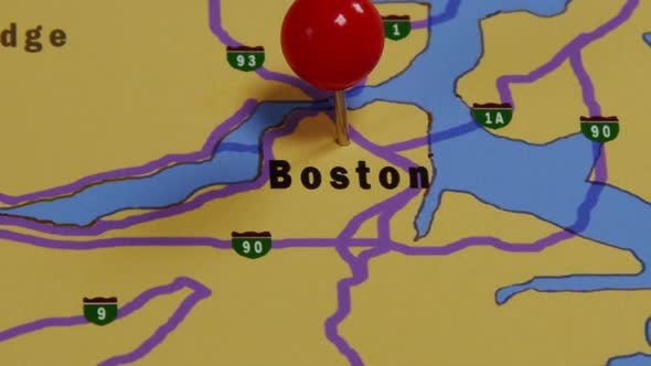 Thumbnail for Map Of Boston 01