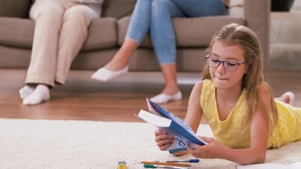 Thumbnail for Female Family Spending Time at Home