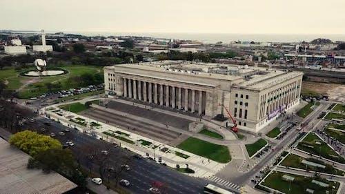 University Drone View