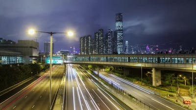 Hong Kong Freeway Time Lapse