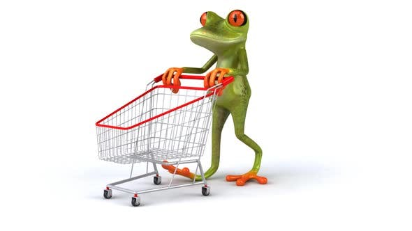 Thumbnail for Frog shopping