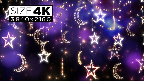 Star And Moon Decoration