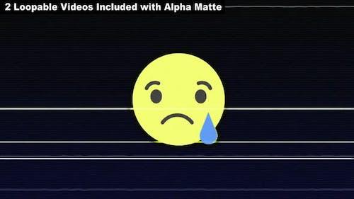 Glitch SAD Emoji