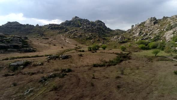 Thumbnail for Aerial Landscape with Mountains in Portugal