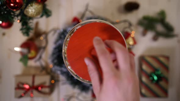 Thumbnail for Hands taking gingerbread from a jar
