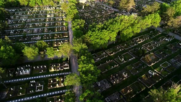 Thumbnail for Aerial View Cemetery