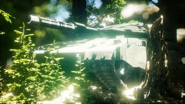Thumbnail for Old Rusty Tank in the Forest