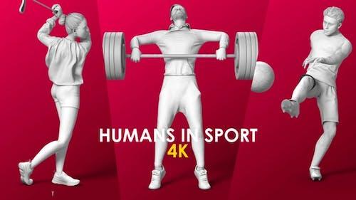 Les humains dans le sport
