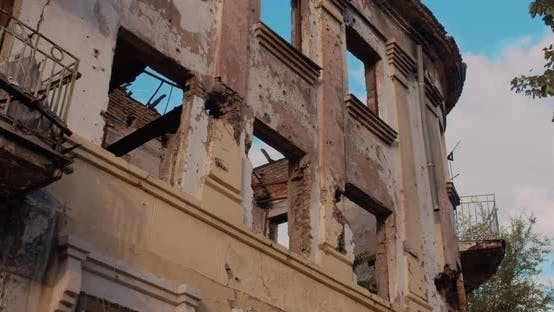 Thumbnail for Remains of Old Building After the War