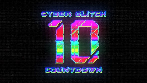 Thumbnail for Cyber Glitch Countdown