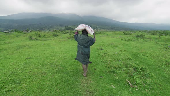 Thumbnail for African child carrying a sack