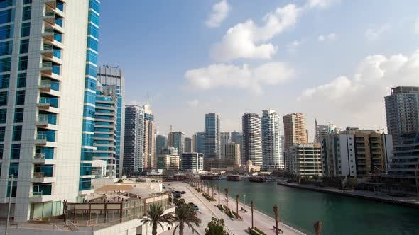 Thumbnail for Dubai Marina Hyperlapse