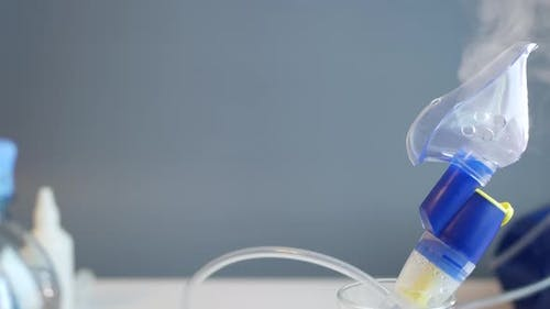 Oxygen Mask of Nebulizer, Medical Equipment for Pneumonia, Covid, Sars and Bronchitis Treatment