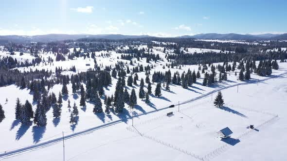 Thumbnail for Snow Covered Winter Landscape