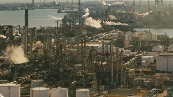 Factory And Smokestack