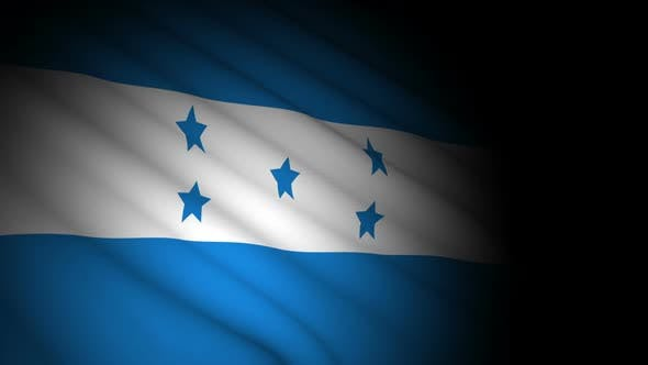 Thumbnail for Honduras Flag Blowing in Wind