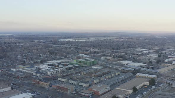 Thumbnail for Boulder Colorado Industrial District Aerial Landscape