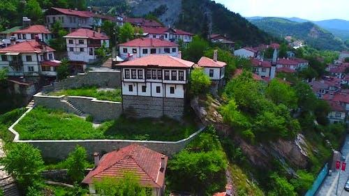 Traditionelle Architektur. Die Stadt der traditionellen Häuser Goynuk