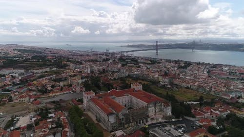 Lisbon Panorama. . Lisbon Is the Capital and the Largest City of Portugal. Lisbon Is Continental