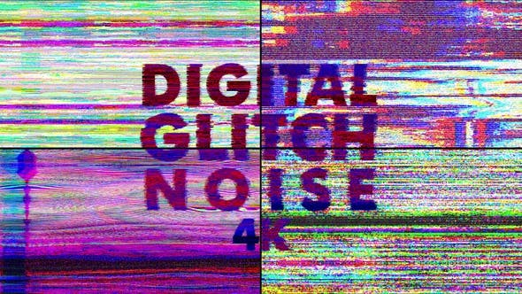 Thumbnail for 4k  Digital Glitch Noise Pack