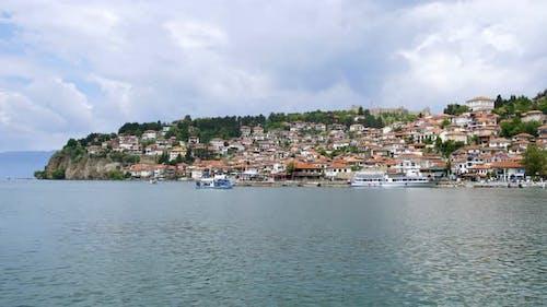 Lake Ohrid, Ancient Historic City District Heritage Travel Destination Macedonia
