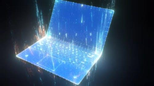 Das digitale Notizbuch Hologramm V1 Hd