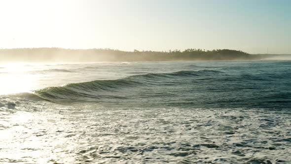 Thumbnail for Large waves on a tropical coastline