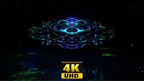 Sci Fi Creatura Sul Pianeta Sci Fi 4K