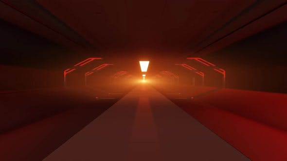 Cover Image for Red Tunnel VJ Looped