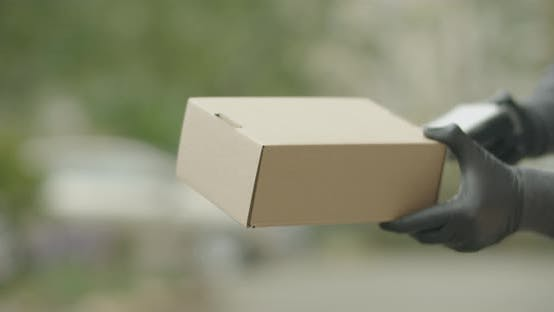 Thumbnail for Delivering the Package and Ready to Electronic Payment