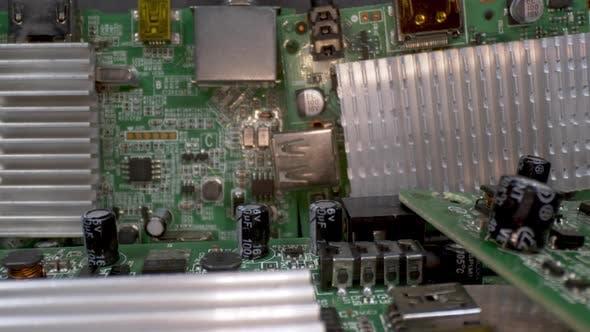 Electronic Digital Satellite Circuit Boards 2