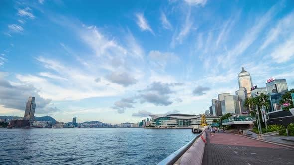 Thumbnail for Timelapse of Hong Kong metropolis