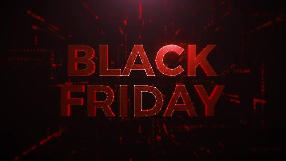 Thumbnail for Red Black Friday Creative Animation