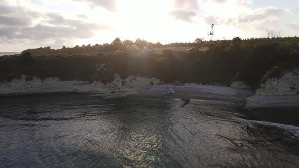 Camping Trip Sea