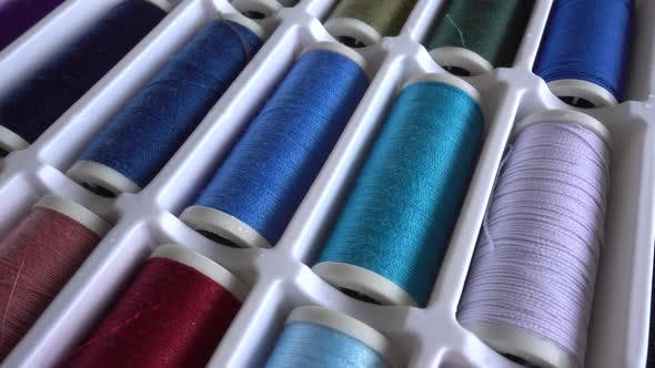 Thumbnail for Multi-Colored Thread Reels