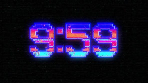 Digital 10 Minute Countdown