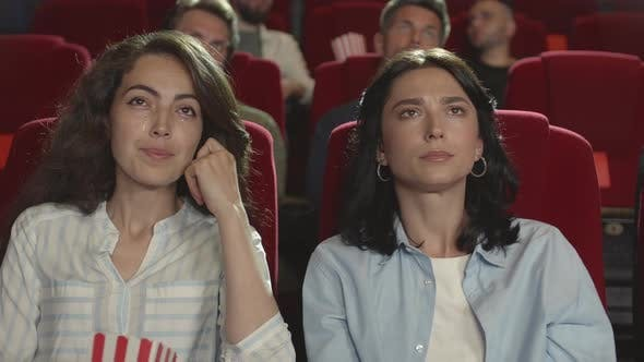 Thumbnail for Two Women Crying while Watching Movie in Cinema