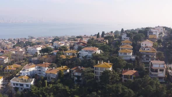 Thumbnail for Istanbul Prince Islands Aerial View 4