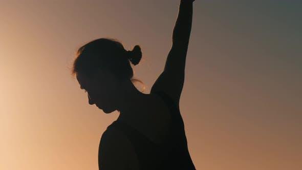 Thumbnail for Girl Practicing Yoga