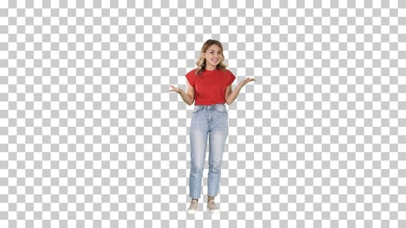 Thumbnail for Teen girl with happy facial expression looking at camera
