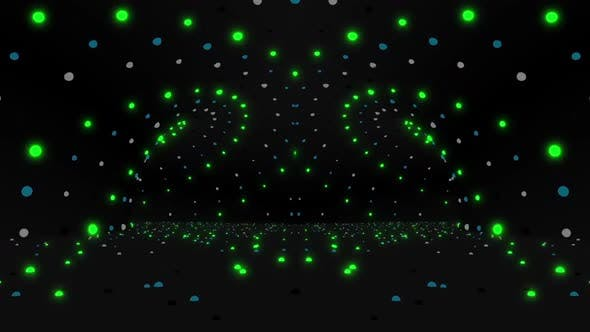 Thumbnail for Dots LED Tunnel VJ Pack
