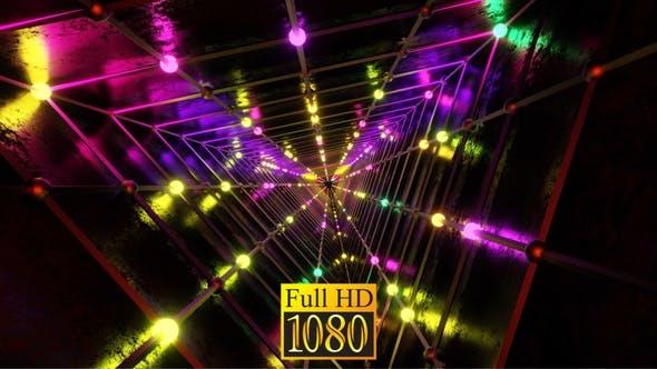 Festive Neon Tunnel HD