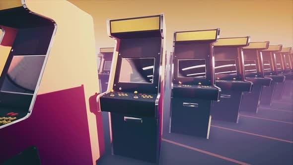 Thumbnail for Retro Arcade Game Machines #03