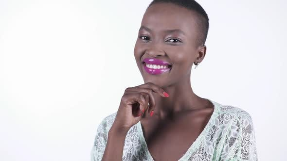 Cover Image for African Model Smiling