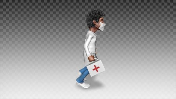 Thumbnail for Cartoon Doctor    Runs To Help 2