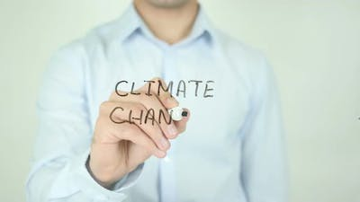 Climate Change, Writing On Screen