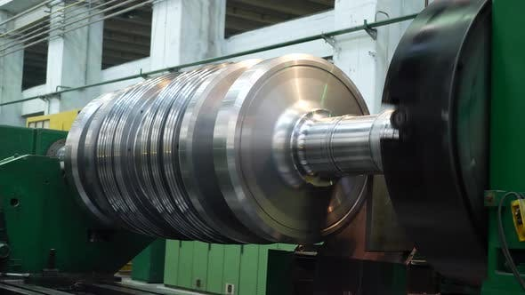 Thumbnail for Manufacturing Power Electric Rotor Turbine for Generator