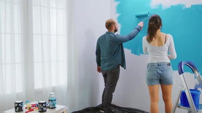 Adults Renovating Apartment