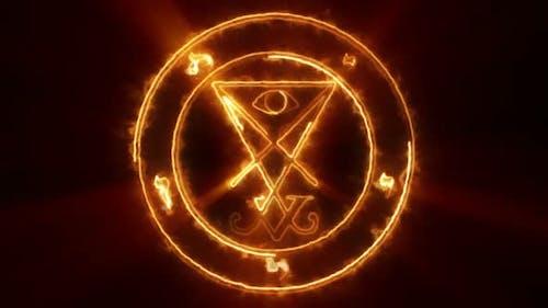 Lucifer Occult Symbol Loop